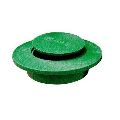 4 in. Plastic Snap-On Drain Pop-Up Emitter Replacement Top