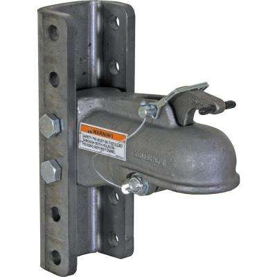 2 in. Channel Mount with 5-Position Fasteners Heavy Duty Cast Coupler