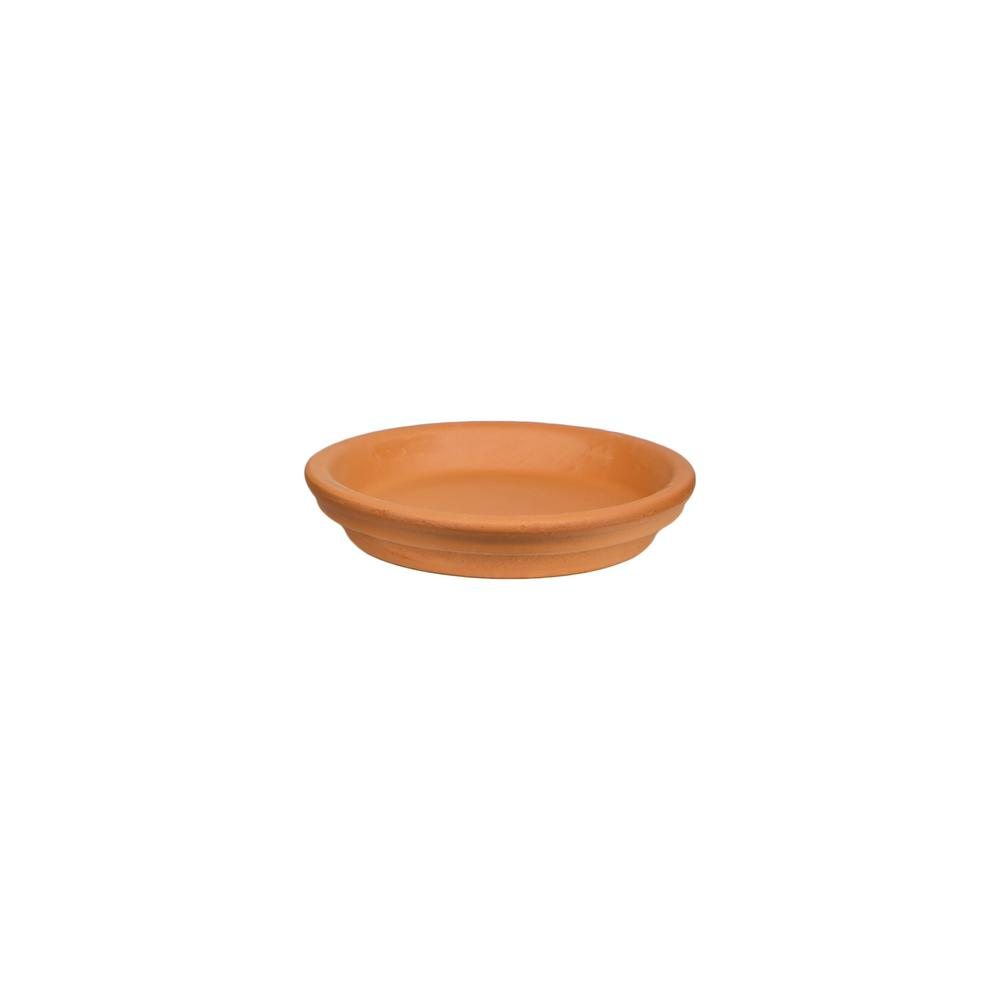 Pennington 8 in. Terra Cotta Saucer