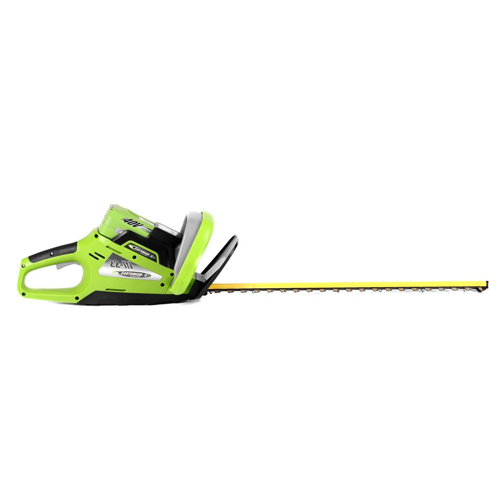 Earthwise 22 in. 40-Volt Lithium-Ion Cordless Hedge Trimmer