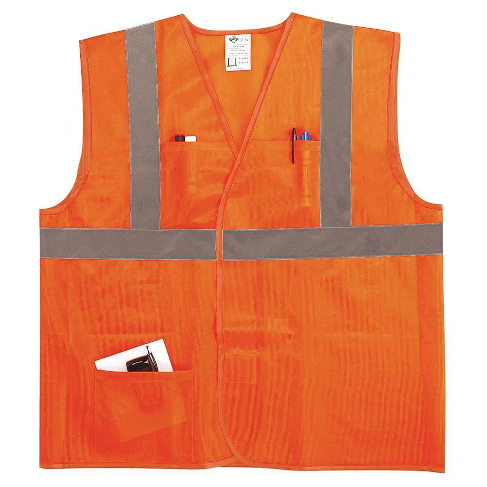 2X/3X Safety Vest
