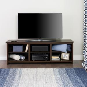 Sonoma 72 in. Espresso Composite TV Stand Fits TVs Up to 80 in. with Cable Management