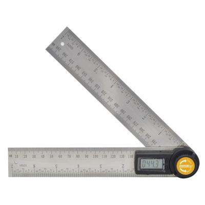 7 in. Digital Angle Locator and Ruler
