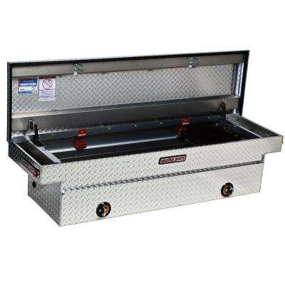 72 Diamond Plate Aluminum Full Size Crossbed Truck Tool Box