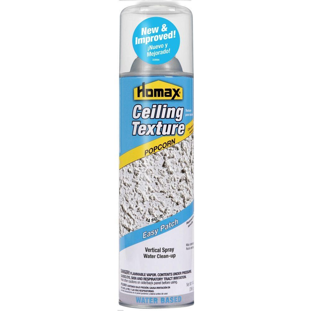 Homax 14 oz Ceiling Popcorn Easy Patch Spray Texture 4094 The