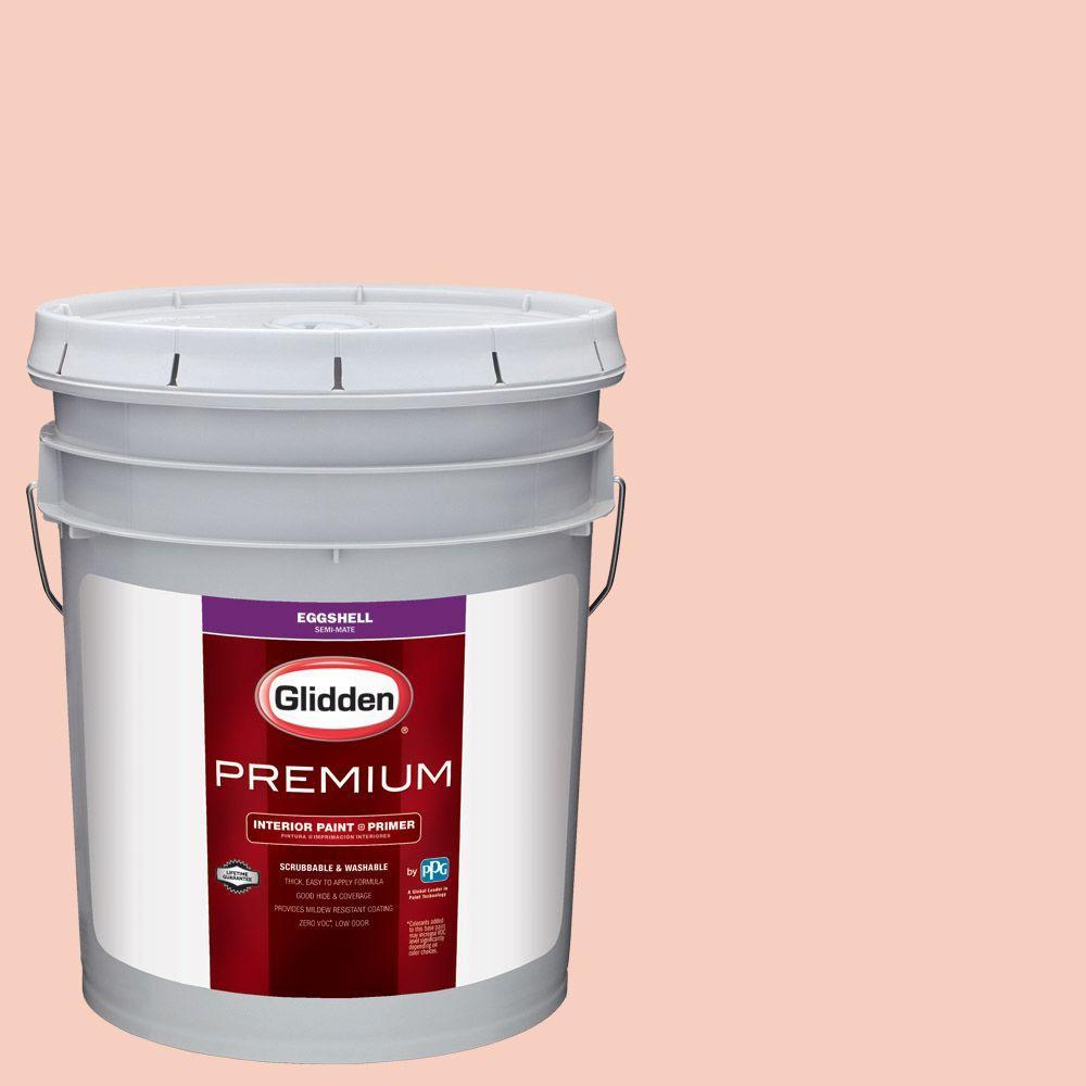 Exceptionnel #HDGR57 Peach Daiquiri Eggshell Interior Paint With Primer