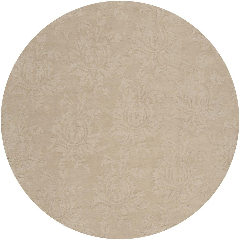 Artistic Weavers Sofia Beige 8 ft. x 8 ft. Round Area Rug