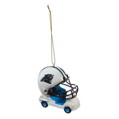 Carolina Panthers 3 in. NFL Field Car Christmas Ornament