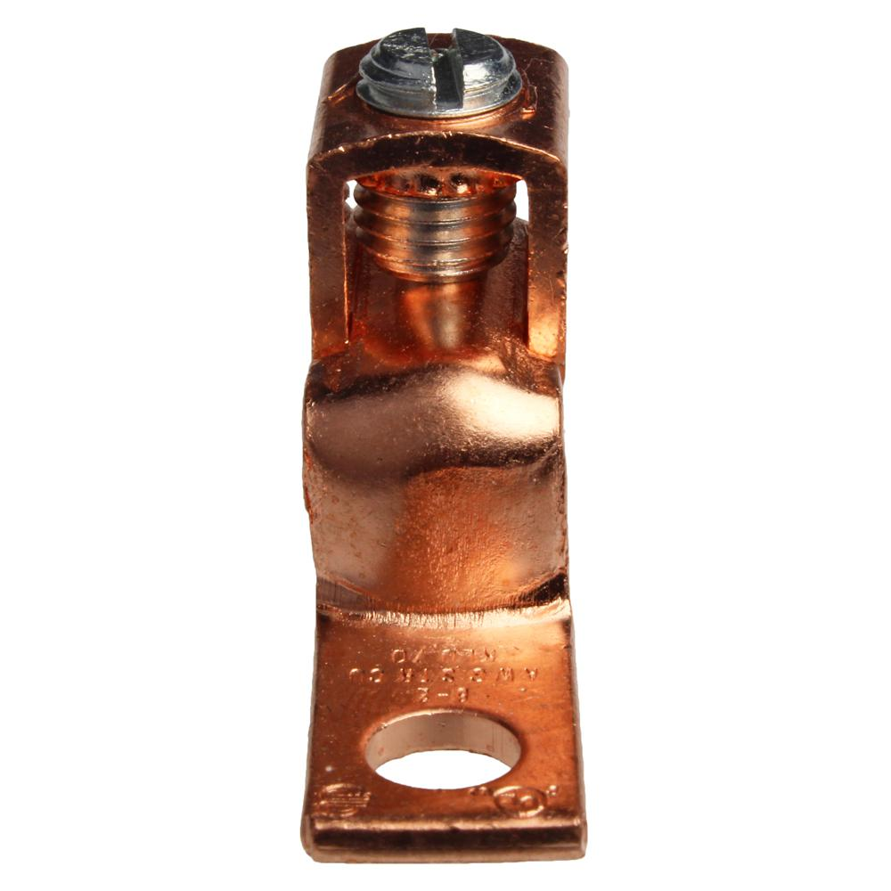 8-2 AWG Copper Mechanical Lug (5-Pack of 2)