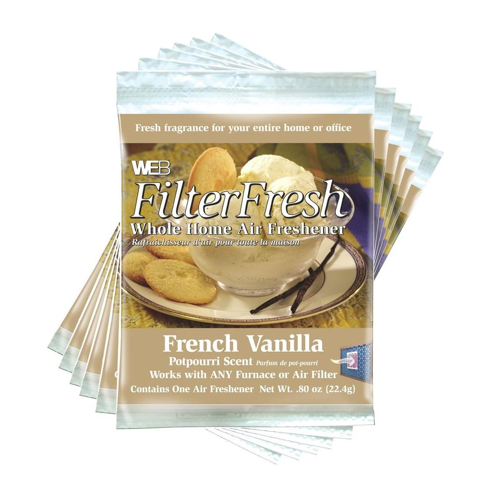 Filter Fresh French Vanilla Whole Home Air Fresheners (6 Pack)