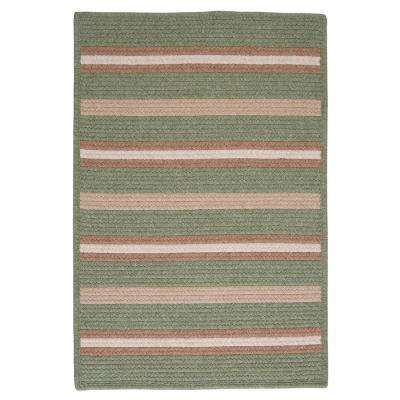 Primrose Palm 10 ft. x 13 ft. Braided Rectangle Area Rug