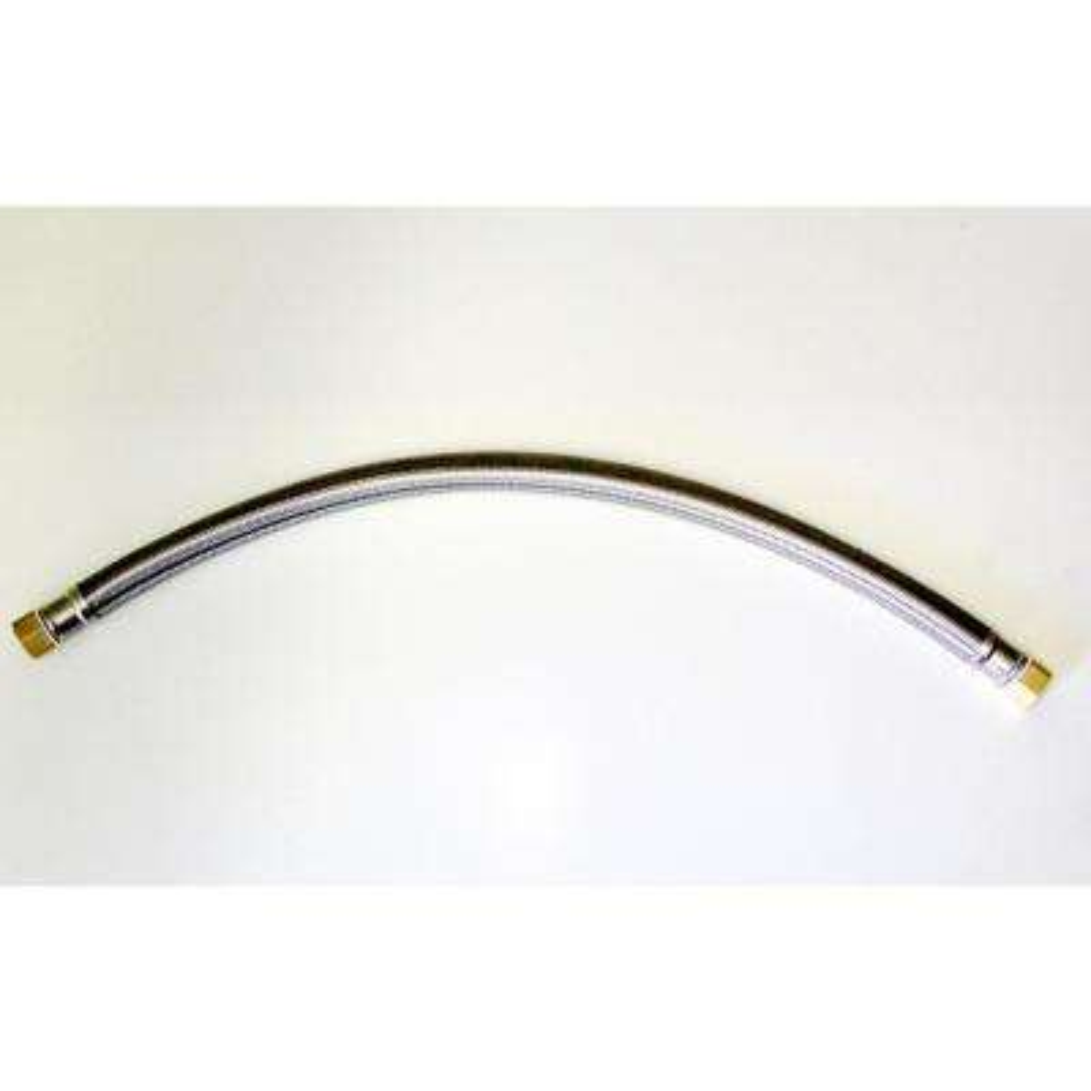 1/2 in. FIP Swivel x 1/2 in. FIP Swivel 24 in. Flexible Stainless Steel Hose