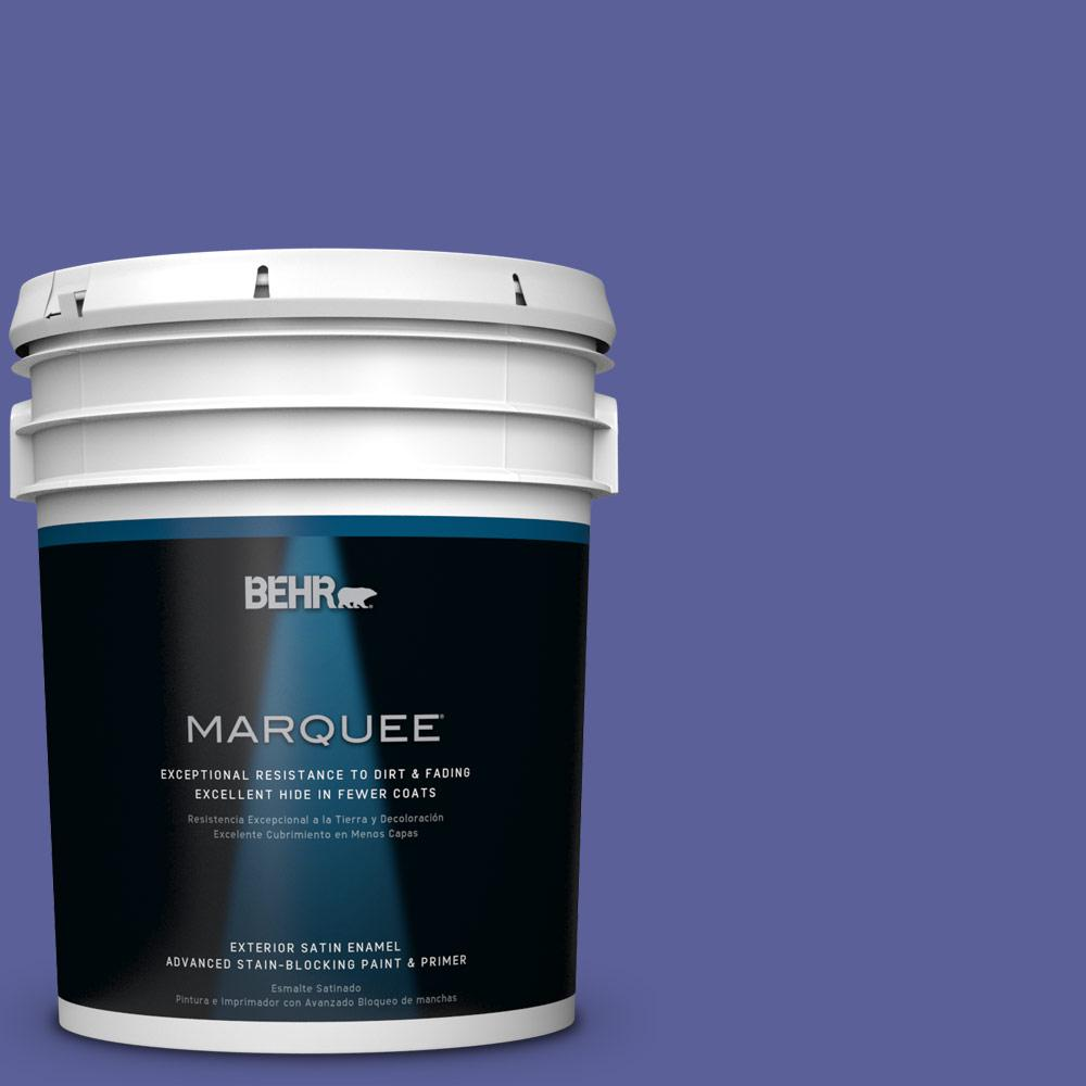 BEHR MARQUEE 5-gal. #P550-6 Wizard's Potion Satin Enamel Exterior Paint