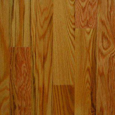 Natural Red Oak Canadian 3/4 in. Thick x 3-1/4 in. Wide x Random Length Solid Hardwood Flooring (20 sq. ft. / case)