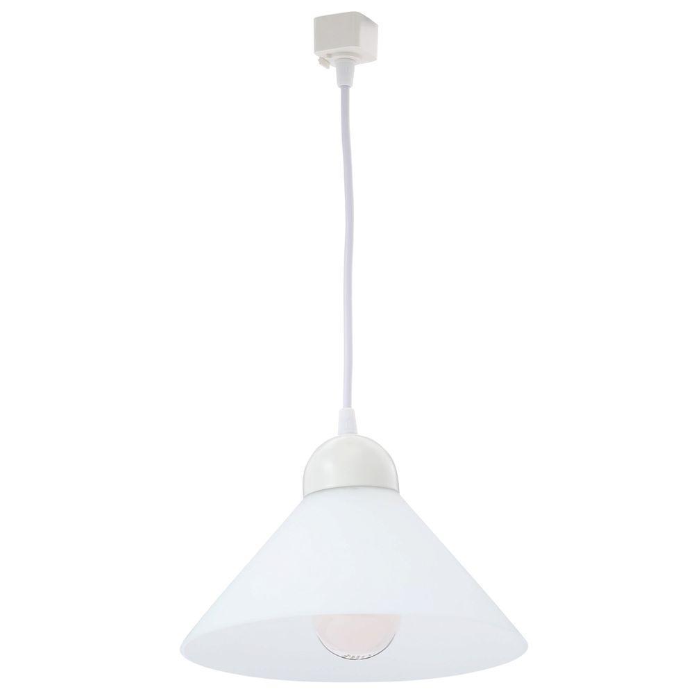 Juno Trac-Lites Line-Voltage White Decorative Pendant