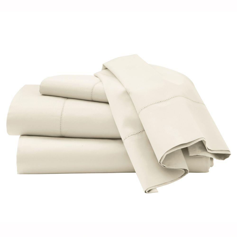 Home Decorators Collection Hemstitched Windrush King Sheet Set
