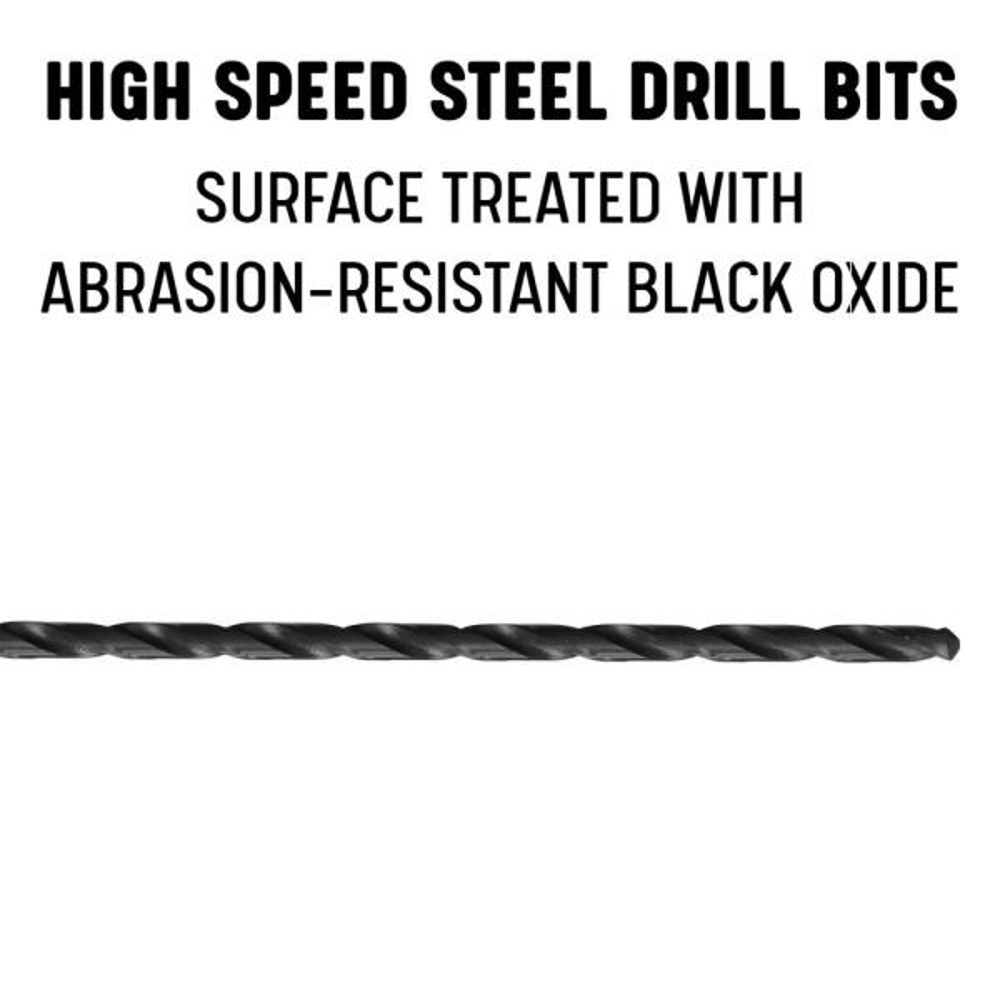 "HSS 1//2 x 18/"" OAL Extra Length Drill"
