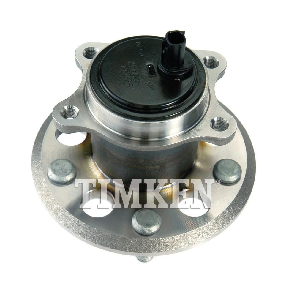 2019 Toyota Camry Hub Bearing Assembly Rear Axle Left: Timken Rear Right Wheel Bearing And Hub Assembly Fits 2012