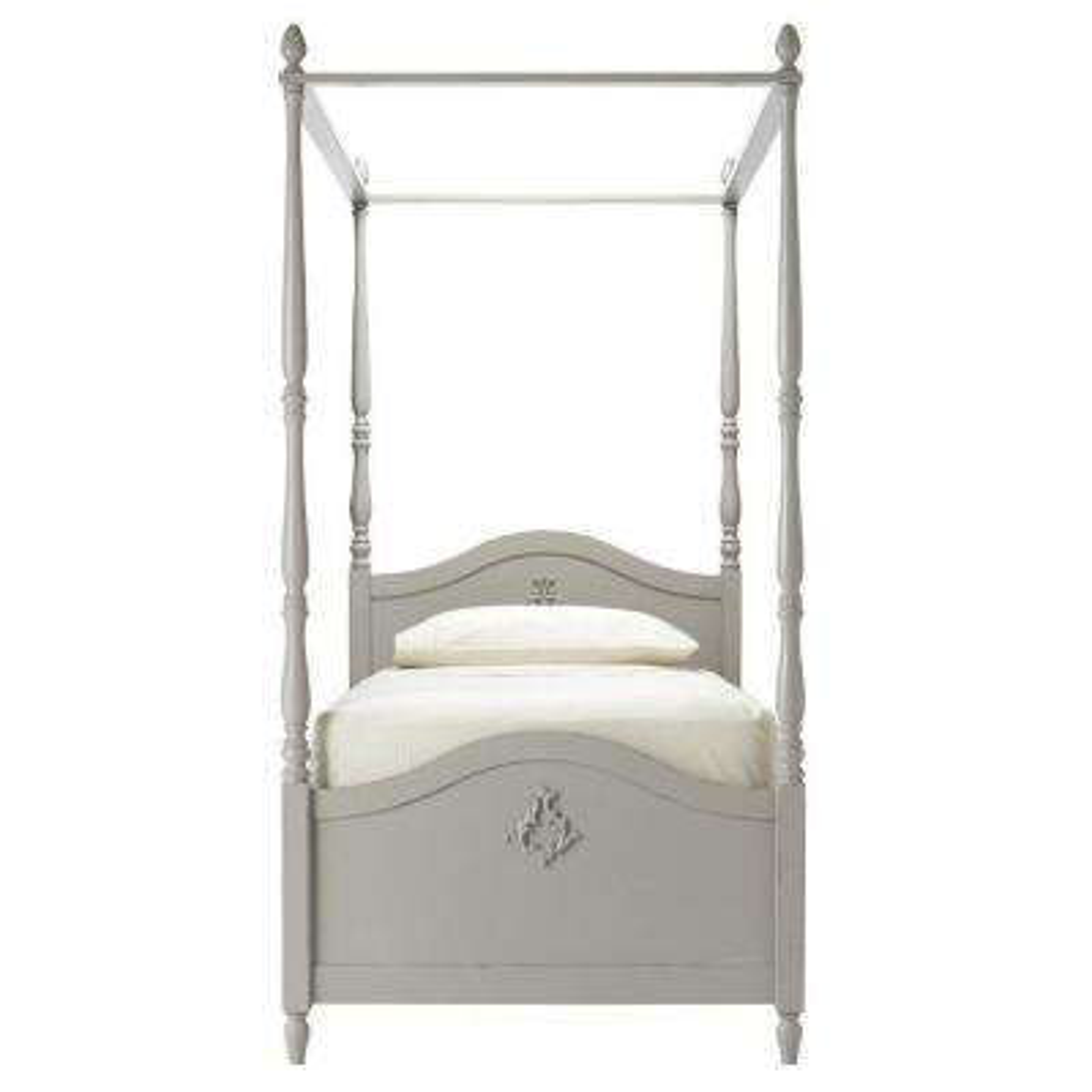Carmela Kids Grigio Carmine Full Size Canopy Bed