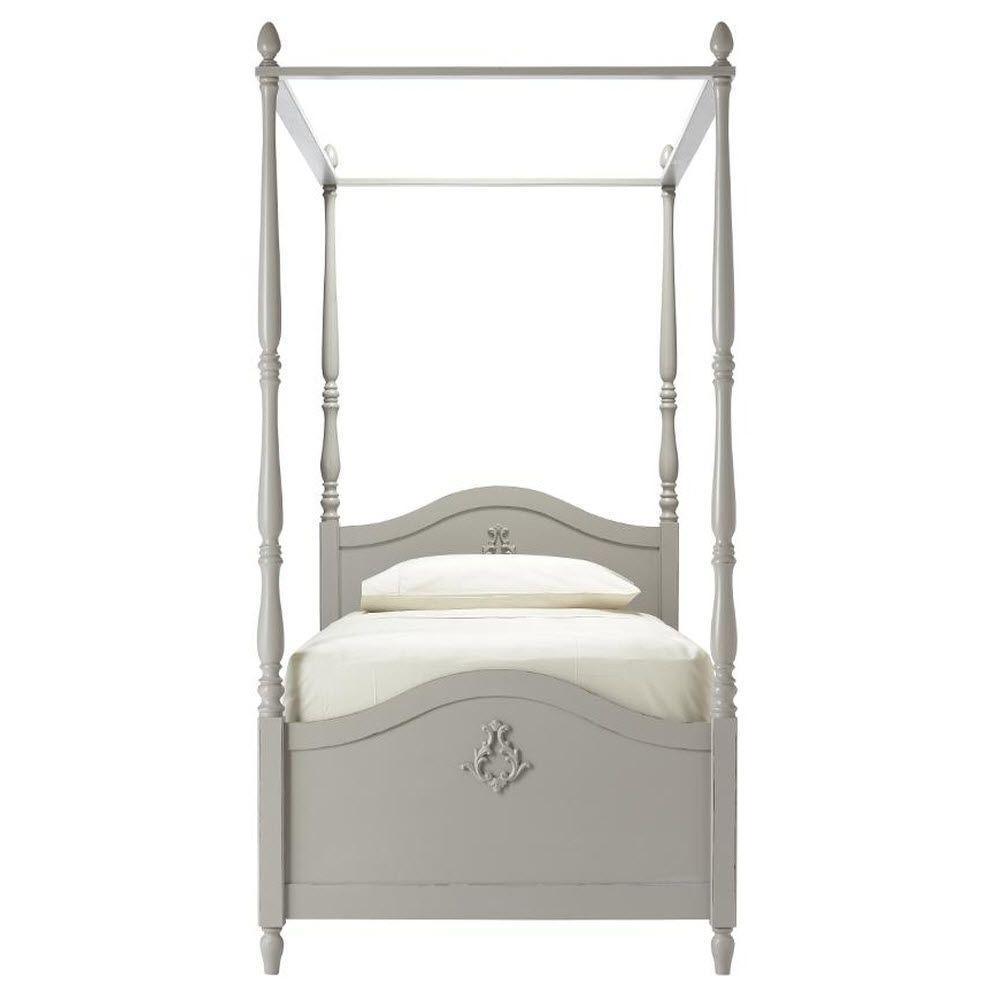 Carmela Kids Grigio Carmine Full Size Canopy Bed  sc 1 st  Home Depot & Carmela Kids Grigio Carmine Full Size Canopy Bed-1651800270 - The ...