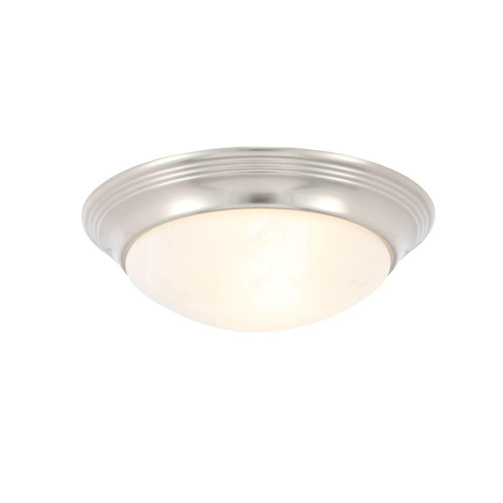Progress lighting alabaster glass collection 1 light chrome this review is fromalabaster glass collection 1 light brushed nickel flushmount arubaitofo Choice Image