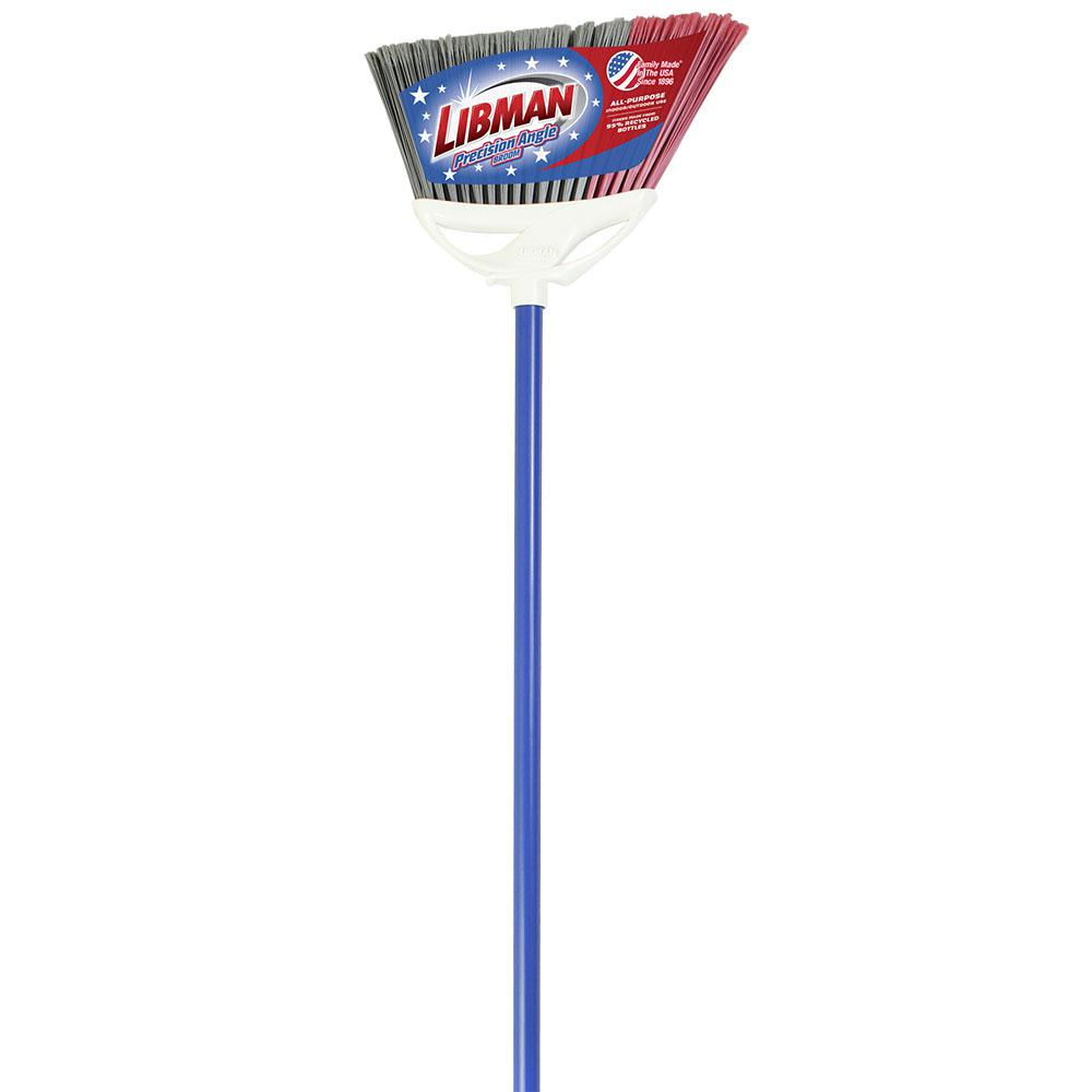 Libman Red, White and Blue Precision Angle Broom