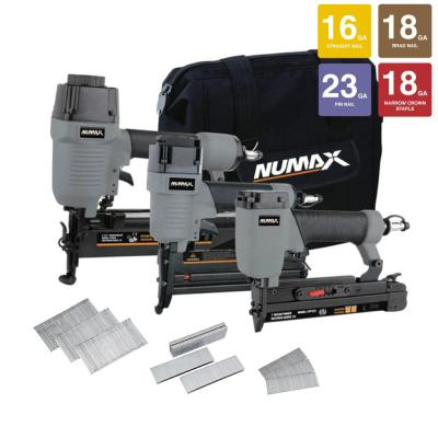NuMax 3-Piece Pneumatic Finish Combo Kit