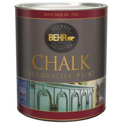 31 Oz White Interior Chalk Paint