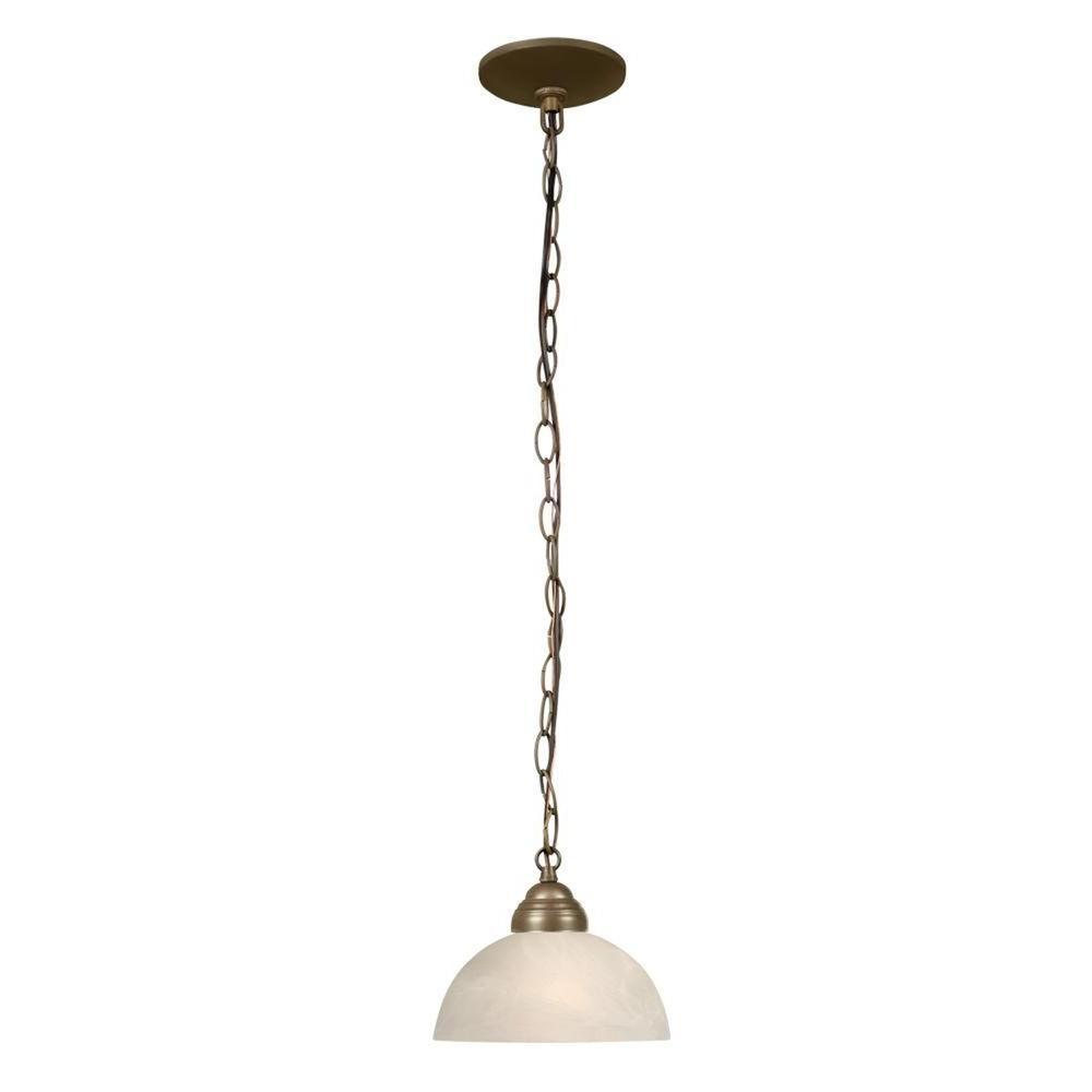 Filament Design Negron 1-Light Gold Incandescent Mini Pendant