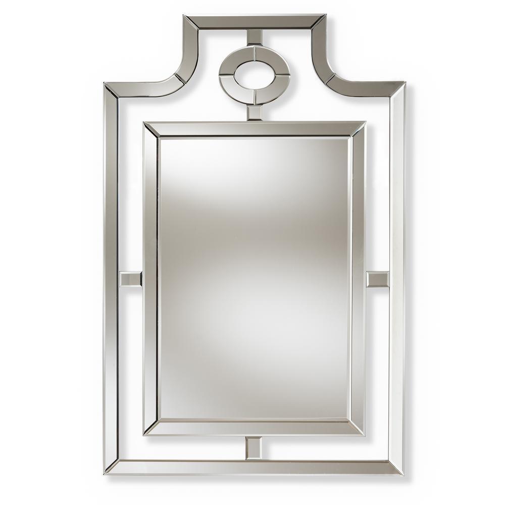 Iria Silver Wall Mirror