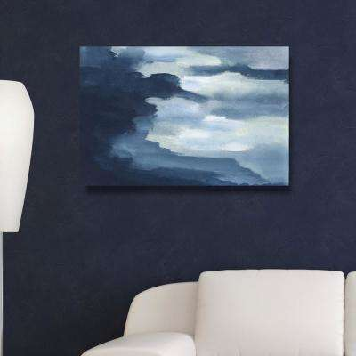 """24 in. x 36 in. 'Waterfalls"""" by """"Oliver Gal"""" Printed Framed Canvas Wall Art"""