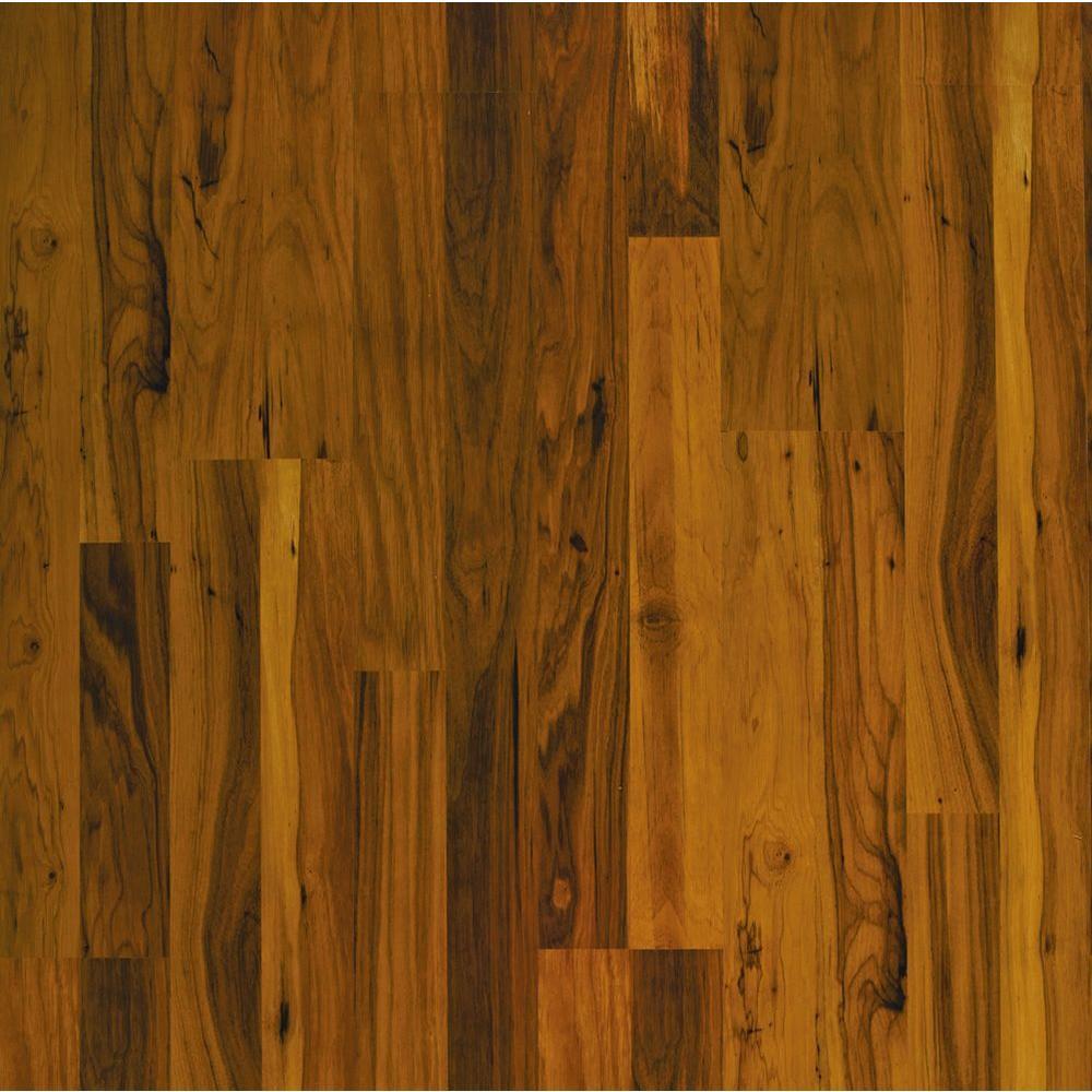Pergo Presto Toasted Maple Laminate Flooring - 5 in. x 7 in. Take Home Sample