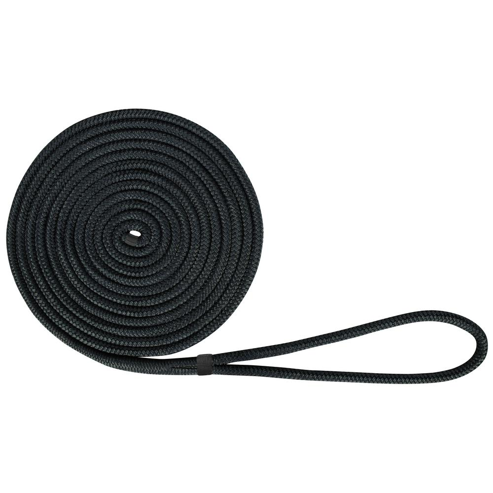 6dbe3312dc1615 Extreme Max BoatTector 1/2 in. x 20 ft. Double Braid Nylon Dock Line ...