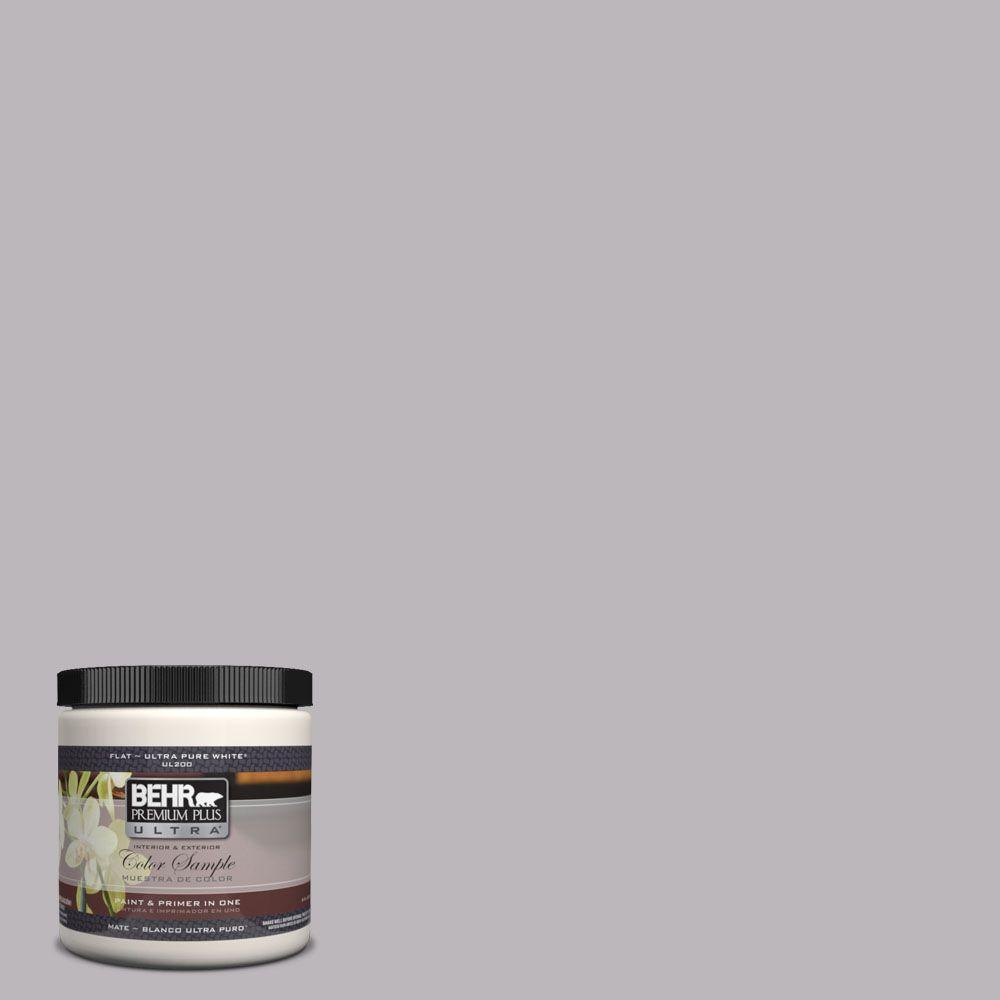 BEHR Premium Plus Ultra 8 oz. #UL250-15 French Lilac Interior/Exterior Paint Sample