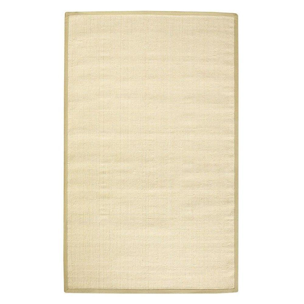 Home Decorators Collection Woolen Jute Natural 7 Ft X 9 Ft Area Rug 0350620840 The Home Depot
