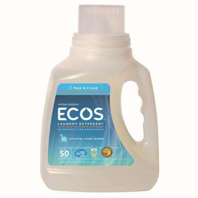 50 oz. Free and Clear Liquid Laundry Detergent