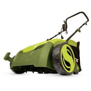 Sun Joe 13 inch 12 Amp Electric Scarifier + Lawn Dethatcher with Collection Bag by Sun Joe