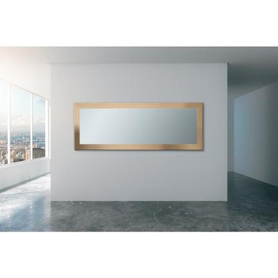 32 in. x 71 in. Full Length Contemporary Champagne Mirror