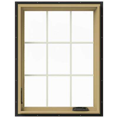 30 in. x 40 in. W-2500 Left-Hand Casement Aluminum Clad Wood Window