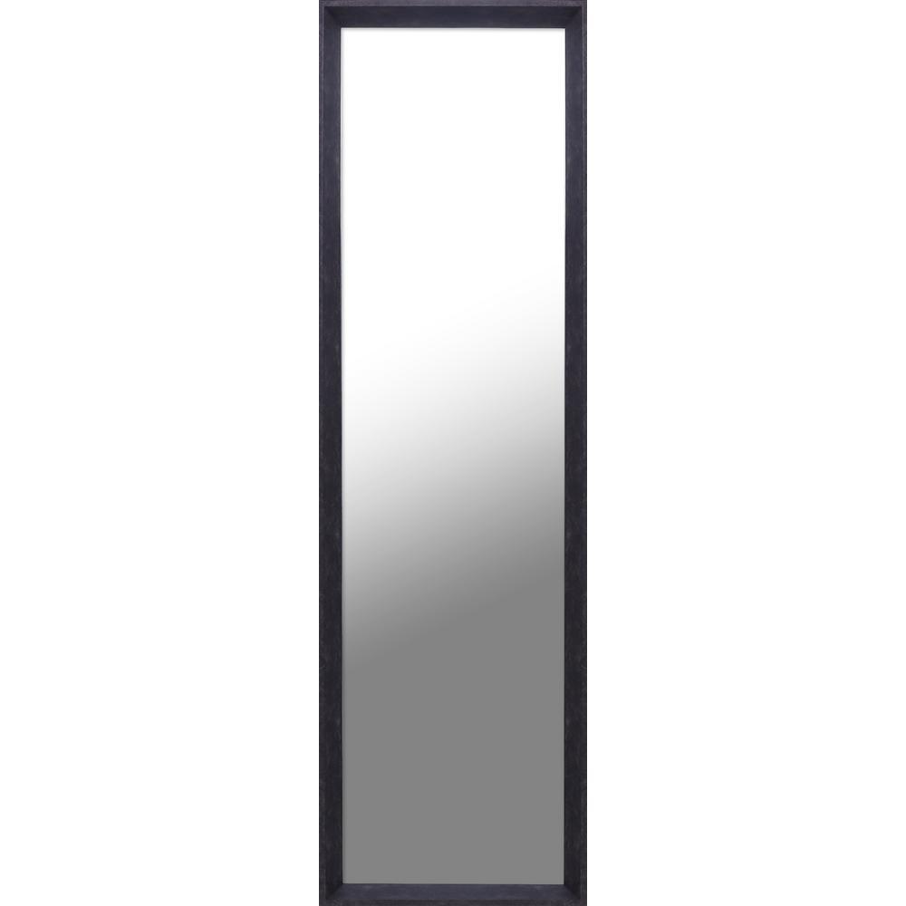 Espresso Door Mirror