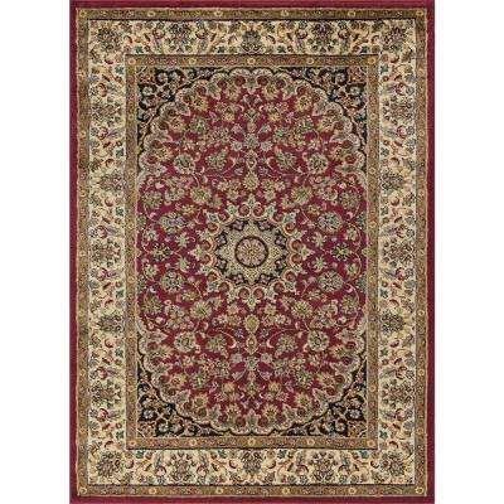 Elegance Red 8 ft. x 10 ft. Indoor Area Rug