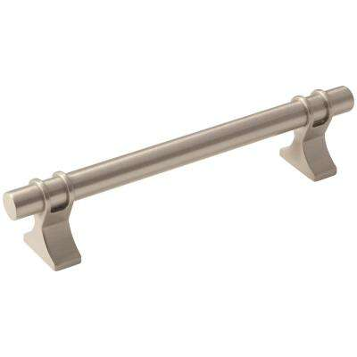Davenport 5-1/16 in. (128 mm) Satin Nickel Cabinet Center-to-Center Pull