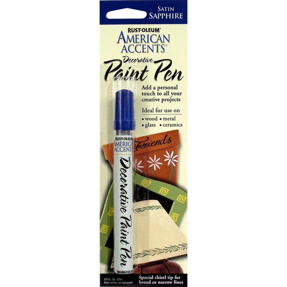 Satin Sapphire Decorative Paint Pen (6-Pack)