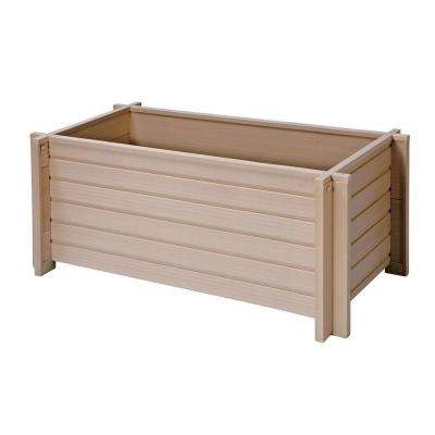 EcoConcepts 18 in. x 42 in. Rectangular Planter