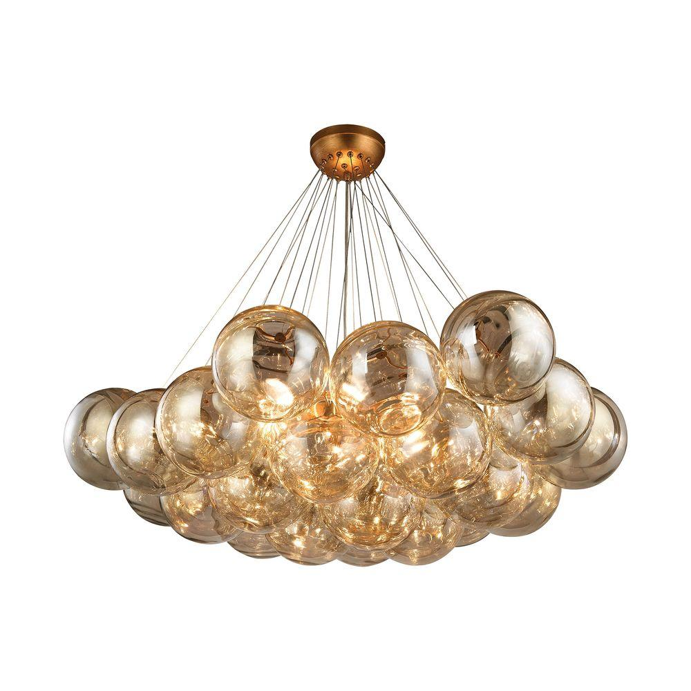 Titan lighting cielo 6 light antique gold leaf chandelier tn titan lighting cielo 6 light antique gold leaf chandelier arubaitofo Choice Image