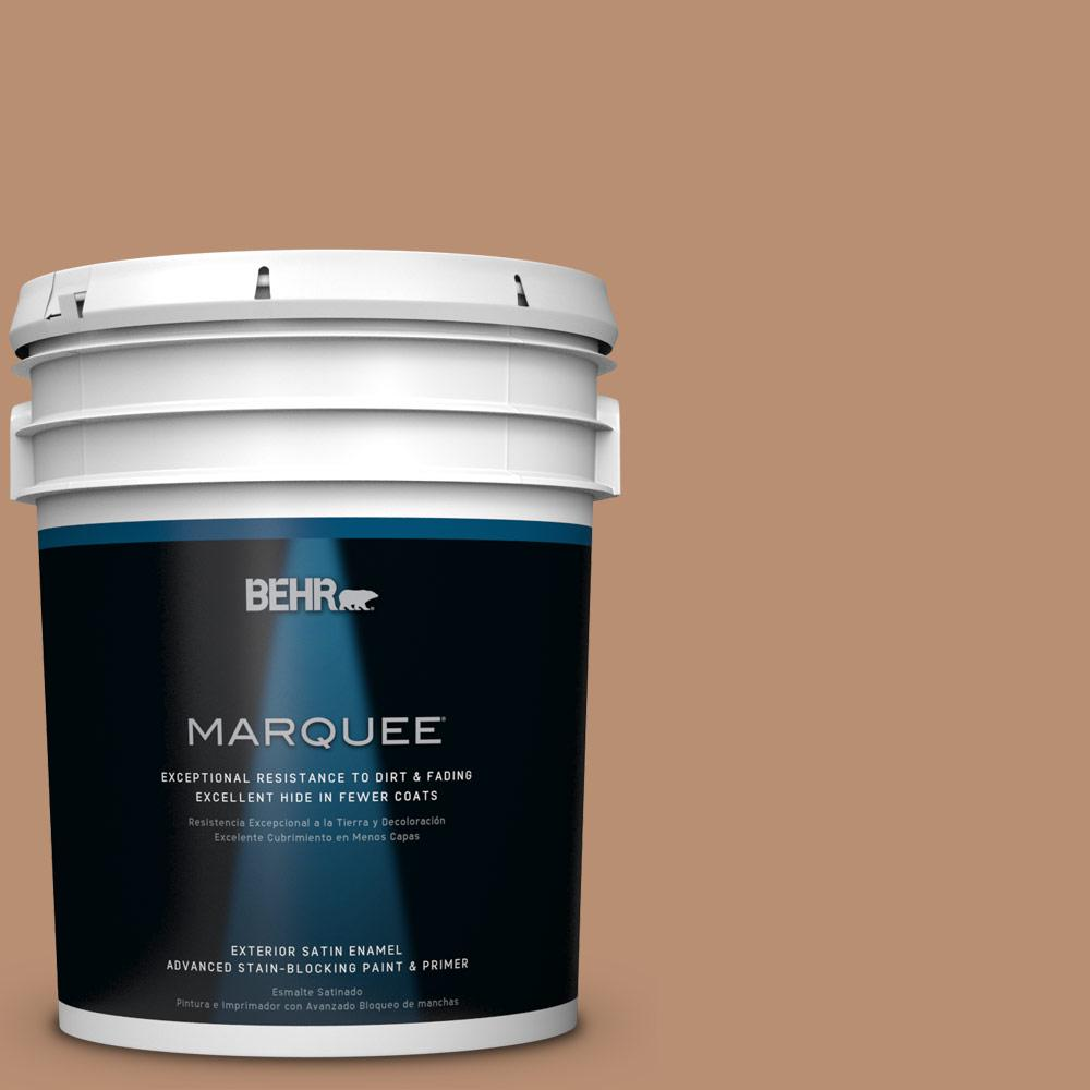5-gal. #S230-5 Sugar Maple Satin Enamel Exterior Paint
