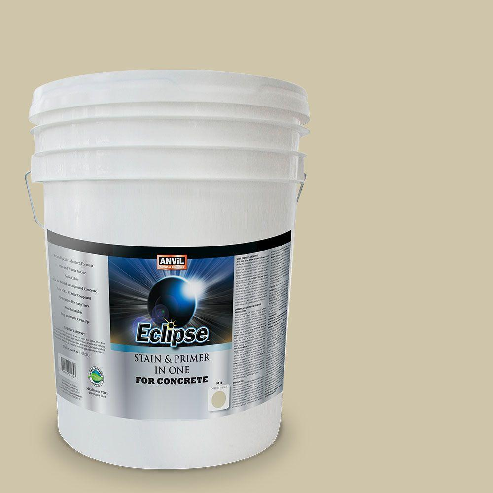 ANViL 5-gal. Desert Beige Eclipse Concrete Stain and Primer in One