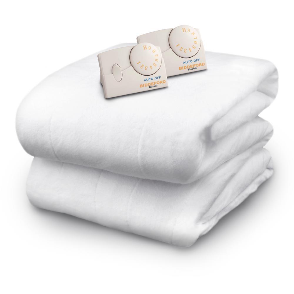 Biddeford Blankets White Queen Size Mattress Pad 5902 908121 100