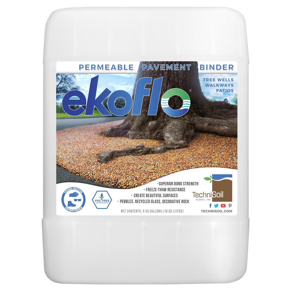 EkoFlo Permeable Pebble Binder (5-gal. Bottle)