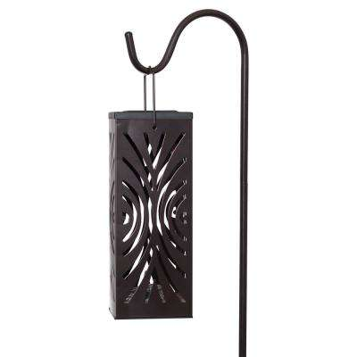 Solar Bronze Outdoor Integrated LED Landscape Path Light